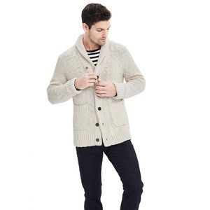 Banana Republic slub cardigan